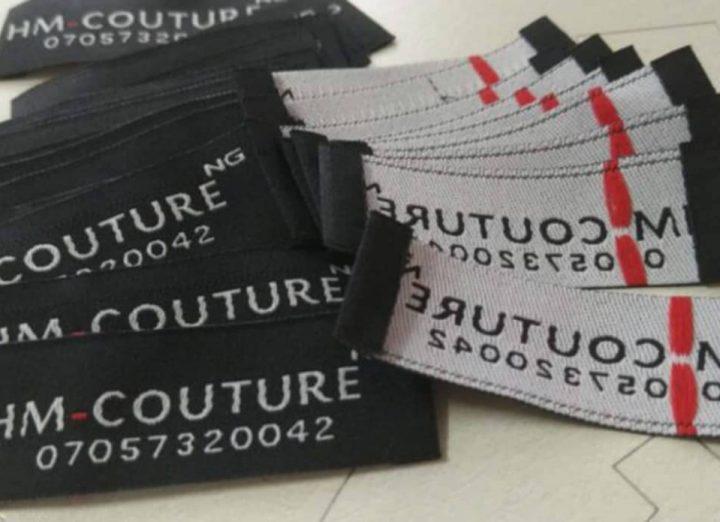 Woven label in Nigeria